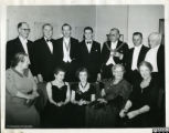 Photograph of Students' Union Dinner and Ball at De Montfort Hall